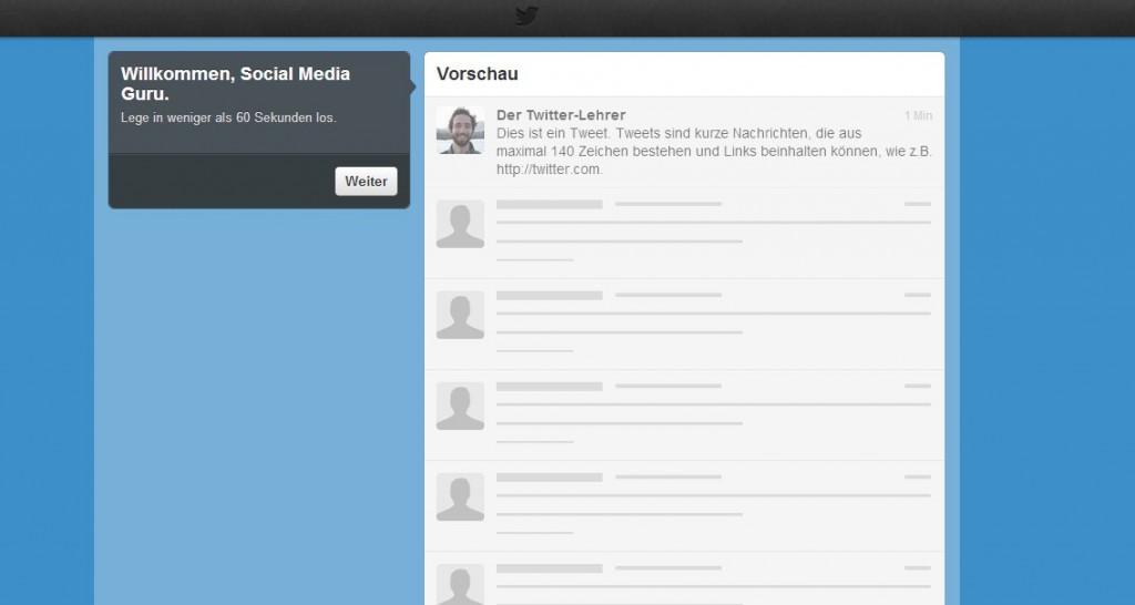 Twitter Account anlegen - Anleitung